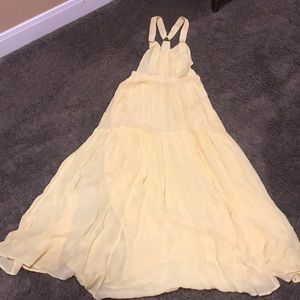 Free People long flowing dress